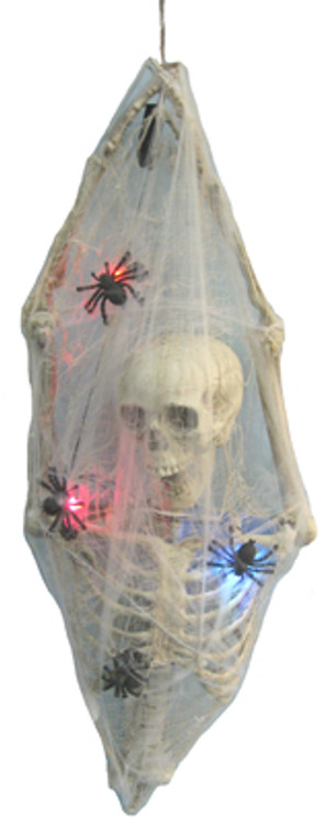 Halloween Half Torso Light Up Skeleton Cocoon