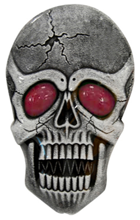 Halloween Large Hanging Skull with Light Up Eyes