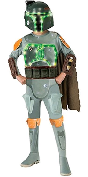Star Wars Light-Up Boba Fett Kids Costume