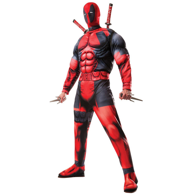 Deadpool Deluxe Mens Costume