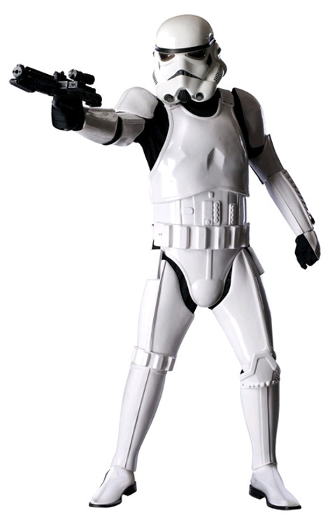 Star Wars - Supreme Stormtrooper Mens Costume