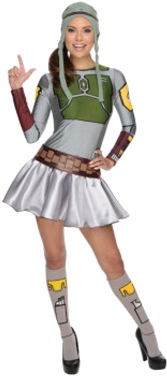 Star Wars Boba Fett female Costume