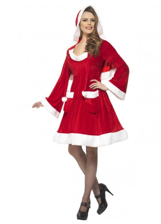 Santa in the City Women's Costume