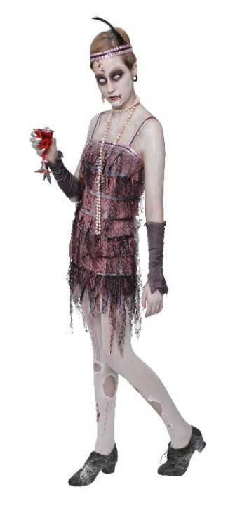 Lady Gravestone Halloween Womens Costume