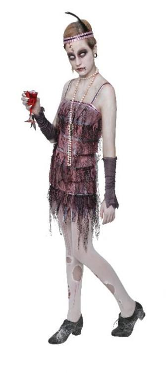 Lady Gravestone Halloween Womens Costume