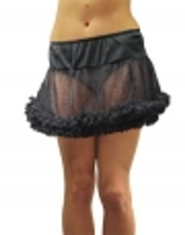 Petticoat Adult Black