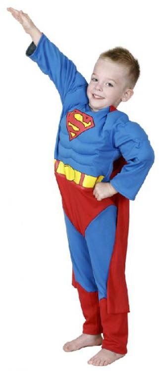 Superman to Batman Reversable Boys Costume