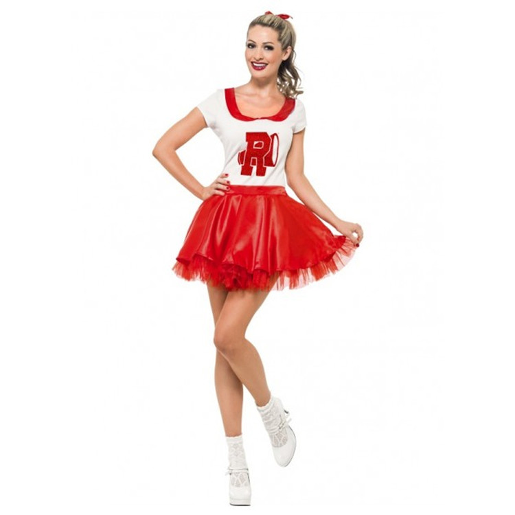 Grease Sandy Rydell High Cheerleader Costume