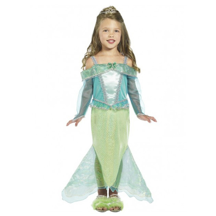 Mermaid Princess Girls Kids Costume