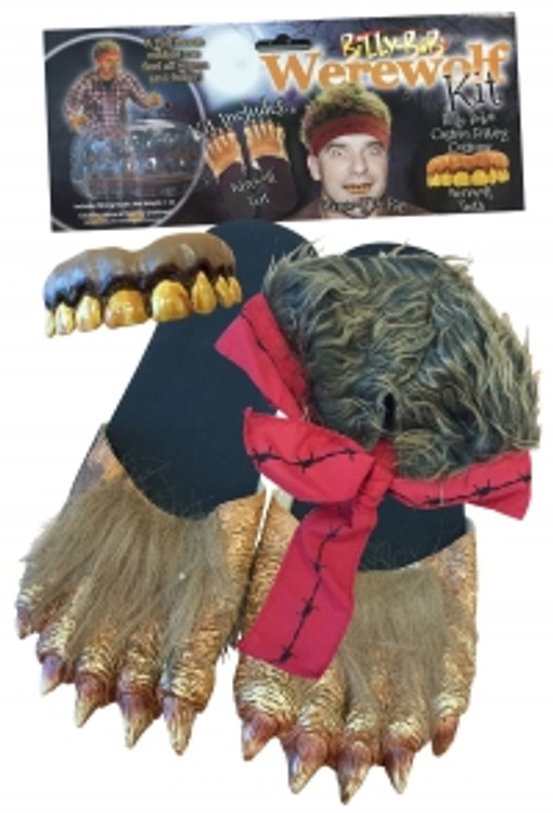 Werewolf Costume Kit  Adult