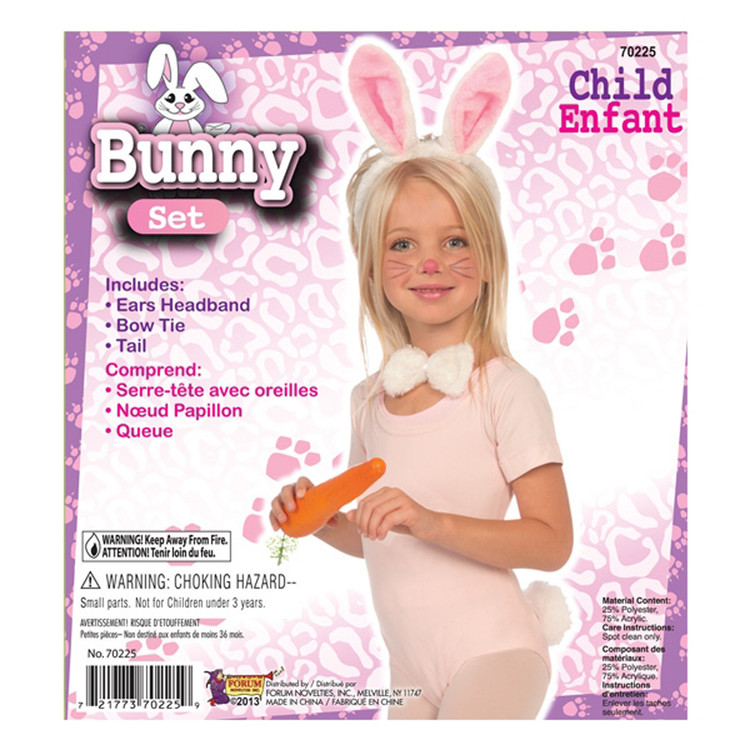 Bunny Rabbit Child Dress-up Kit