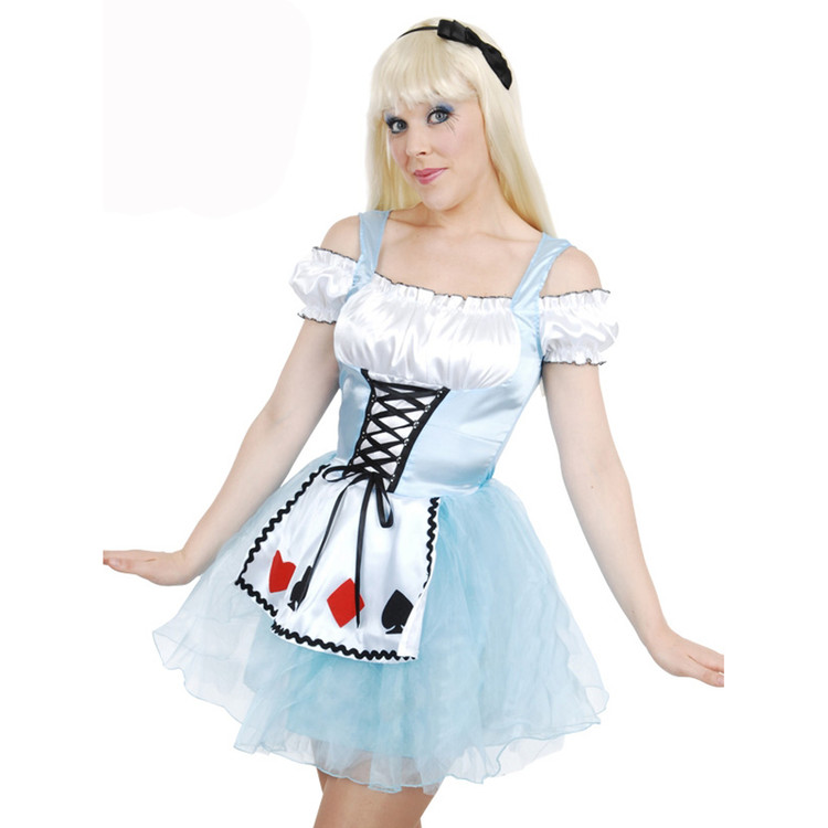Alice in Wonderland Adult Womens Costume a3bcd467c4
