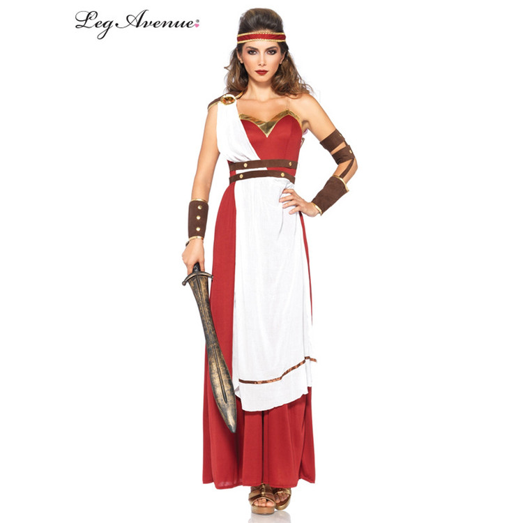 Spartan Goddess Greek Warrior Womens Costume