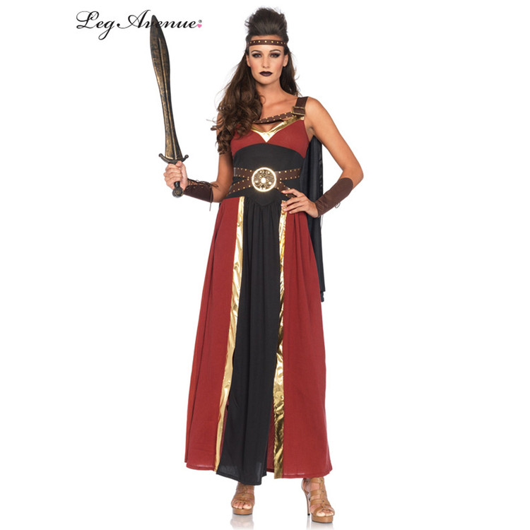 Regal Warrior Greek Womens Costume