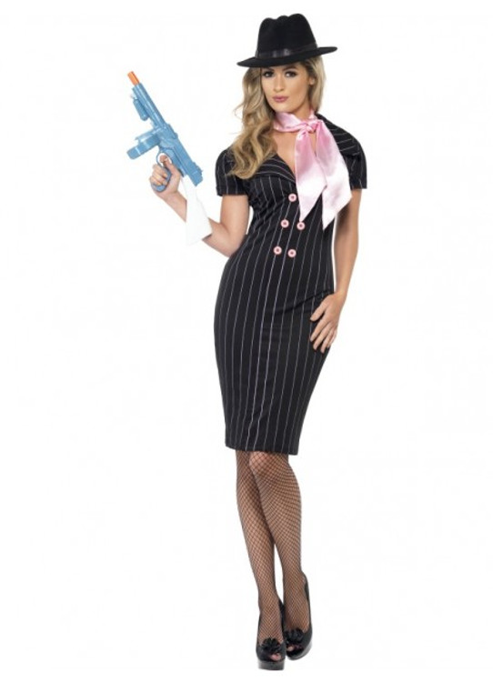 1920's Gangster's Moll Womens Costume