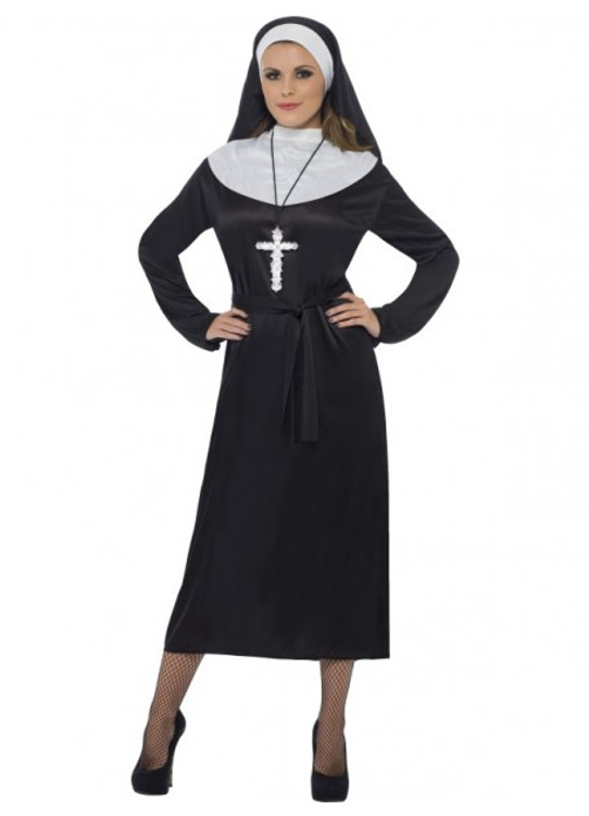Nun Womens Costume