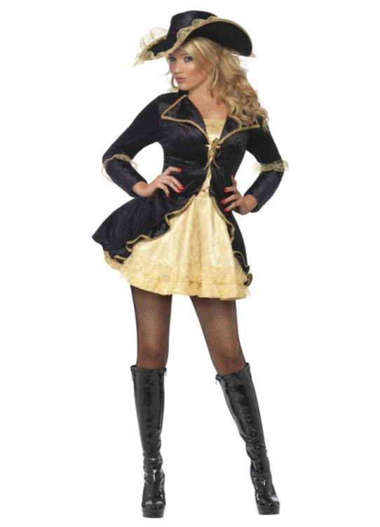 Pirate Swashbuckler Womens Costume