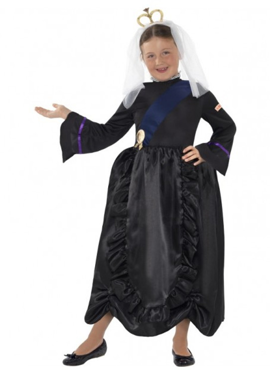 Horrible Histories Queen Victoria Girls Costume