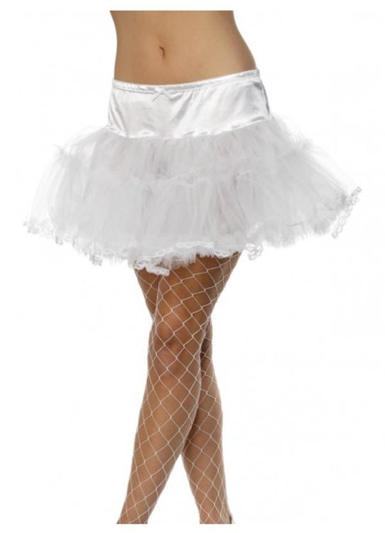 Petticoat Tulle Adult White
