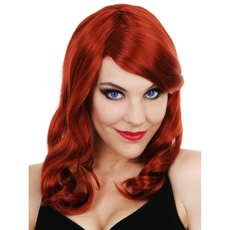 Scarlett Hollywood Star Red Wig