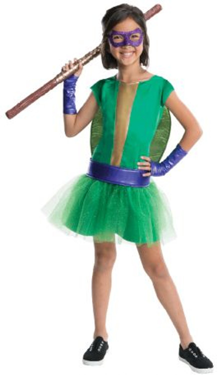 Teenage Ninja Turtle - Donatello Tutu Girls Costume