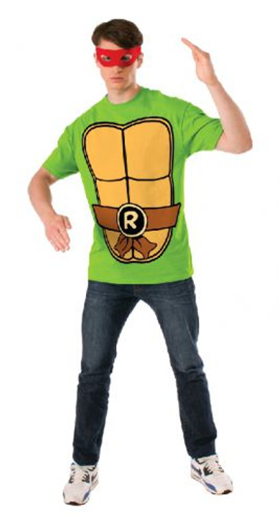 Teenage Mutant Ninja Turtles - Raphael Teashirt Mens Costume