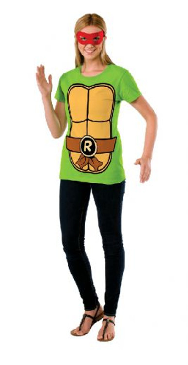 Teenage Mutant Ninja Turtles - Raphael Teashirt Womens Costume