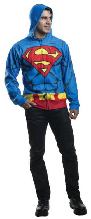 Superman - Hoodie Adult Costume