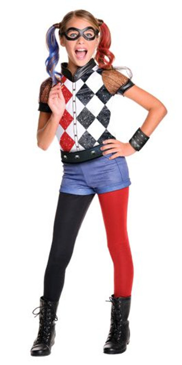 Harley Quinn DC Comics Girls Costume