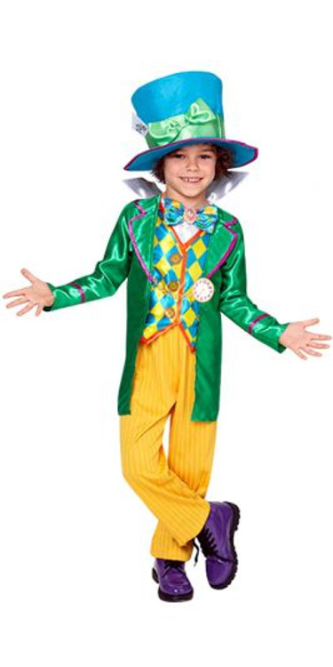 Alice Through the Looking Glass Mad Hatter Boys Costume