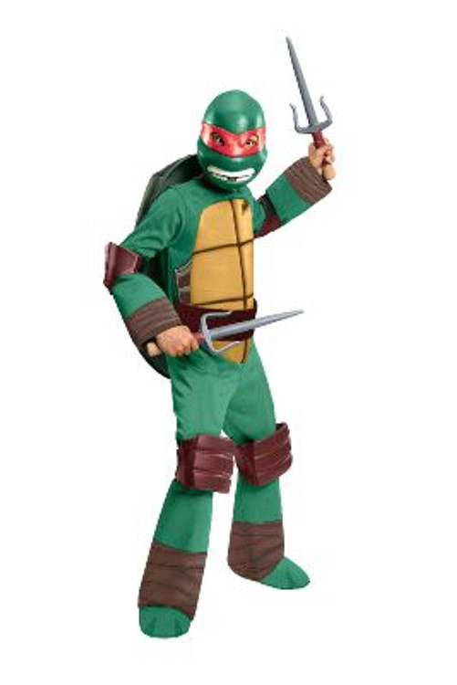 Teenage Mutant Ninja Turtle - Raphael Deluxe Kids Costume