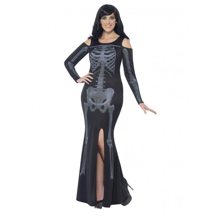 Skeleton Curves Plus Size Womens Costume
