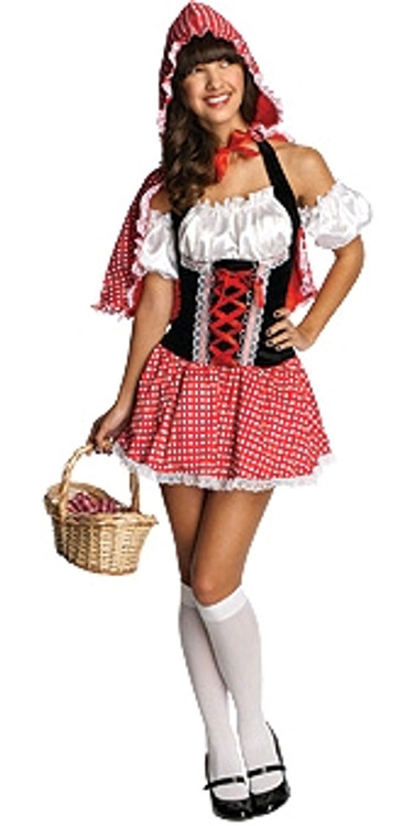 Red Riding Hood Dress Womens