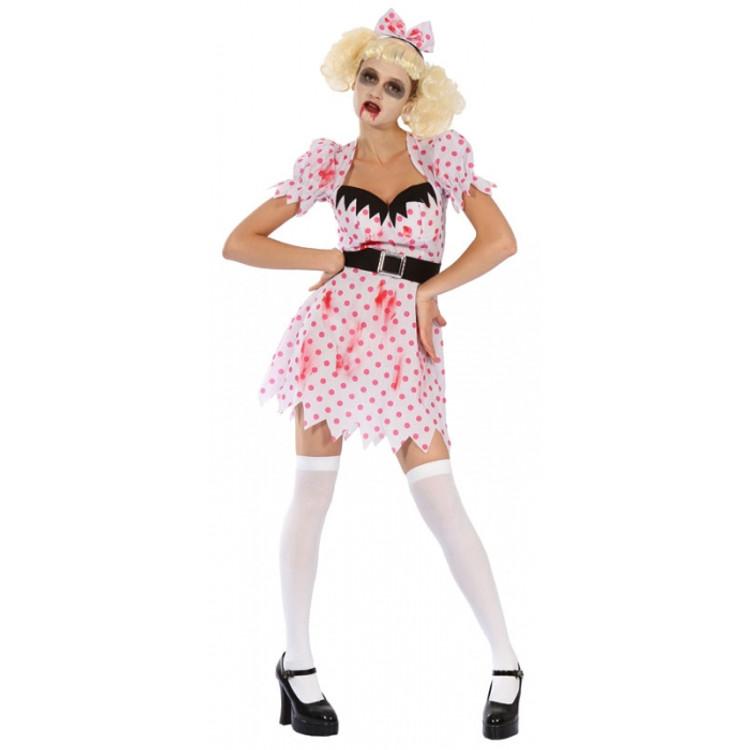 Zombie Bloody Womens Costume