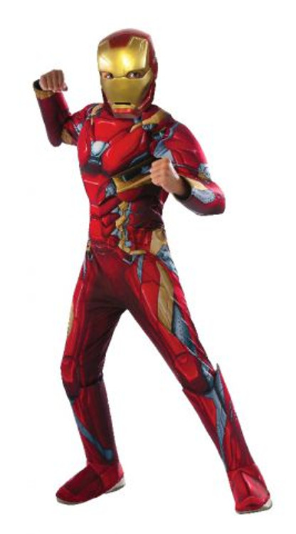 Iron Man Civil War Boys Costume