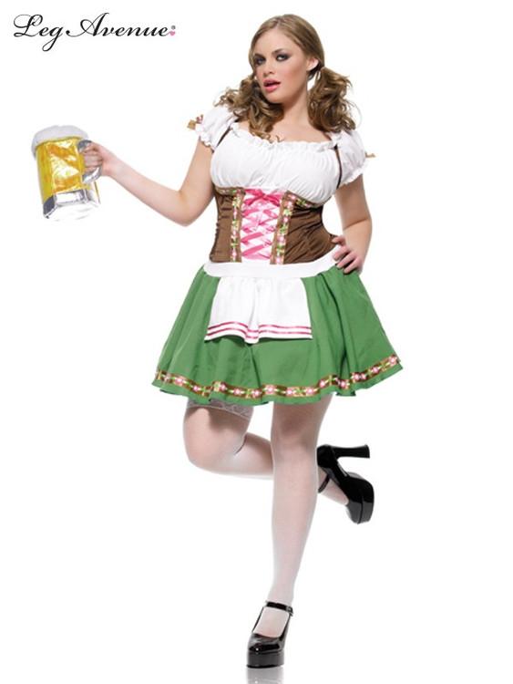 Oktoberfest Gretchen Plus Size Womens Costume