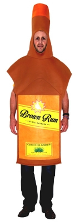 Rum Bottle Adult Costume