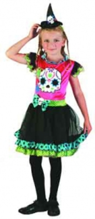Witch Funky Punk Girls Costume