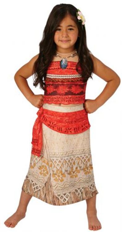 Moana Princess Girls Deluxe Costume