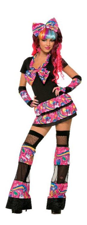 1980s Sweet Trixie Women's Costume
