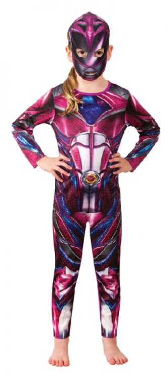 Power Ranger Pink Classic Girl's Costume