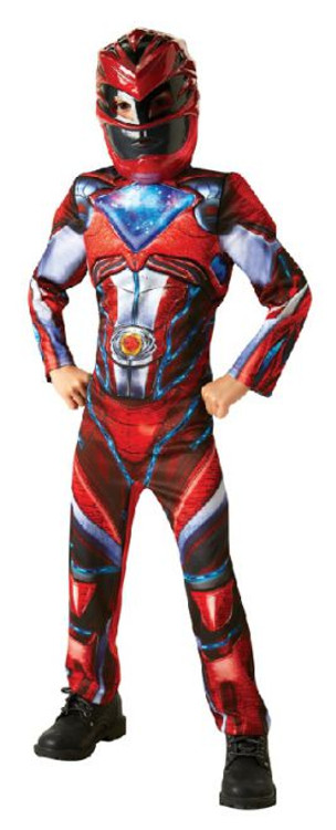 Power Ranger Red Deluxe Boy's Costume