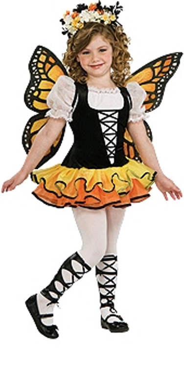 Monarch Butterfly Girls Animal Costume