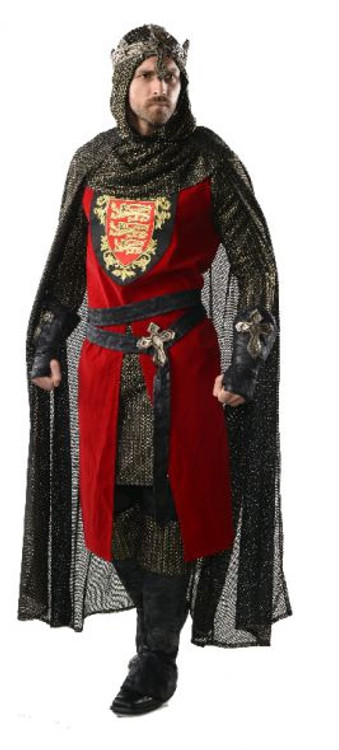 Medieval King Richard Collectors Mens Costume