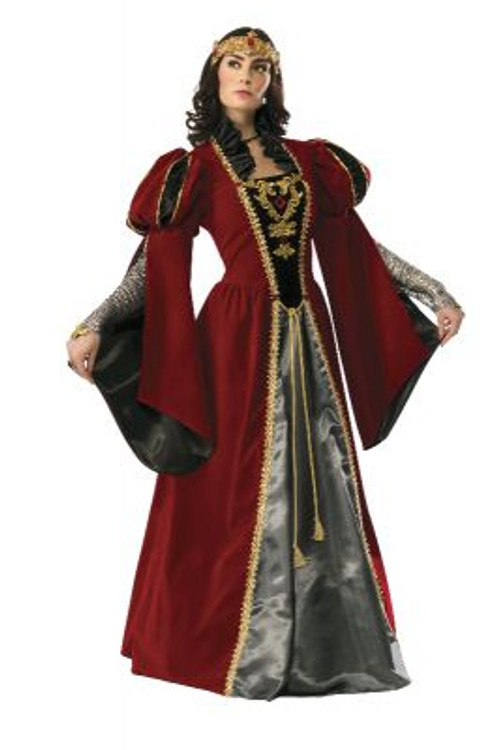 Medieval Queen Anne Collectors Womens Costume