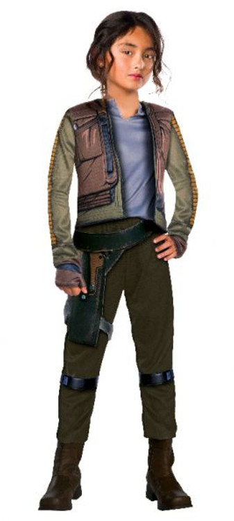Star Wars Jyn Erso Rogue One Girls Costume