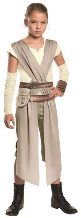 Star Wars - The Force Awakens Rey Hero Fighter Girls Costume