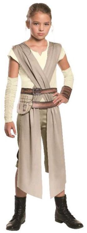 Star Wars - The Force Awakens Rey Hero Fighter Girls Costume
