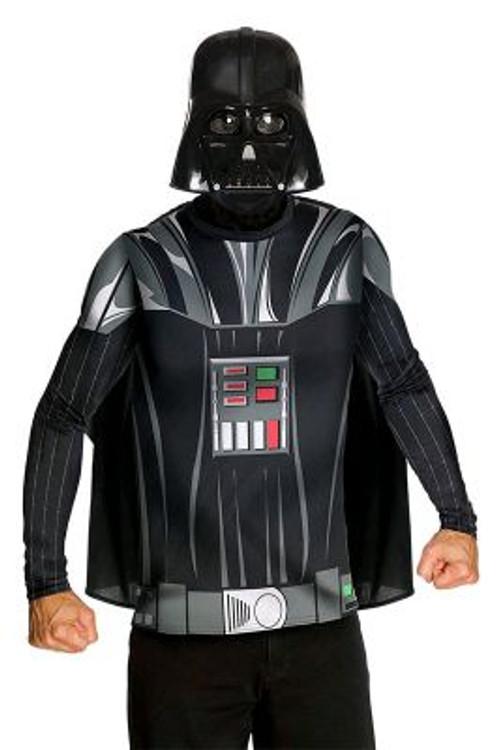 Star Wars - Darth Vader Mens Costume - Shirt & Mask