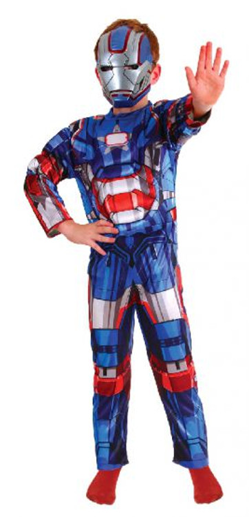 Iron Man Iron Patriot Kids Costume